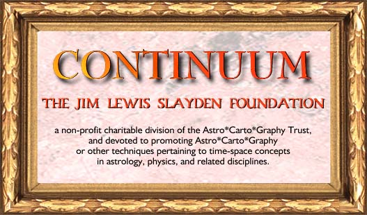 Astro*Carto*Graphy and Continuum